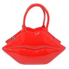2016 Handbags Lips style Women Bags tote New Popular Big Lips Pattern Women  Bag Clutch Evening Bolsas Red PU Leather Handbags eeaef85396bb5
