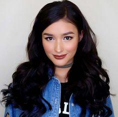 Liza Soberano make up Star Fashion, Fashion Beauty, Lisa Soberano, Beauty Makeup, Hair Makeup, Everyday Make Up, Cool Hairstyles, Asian Hairstyles, Filipina Beauty
