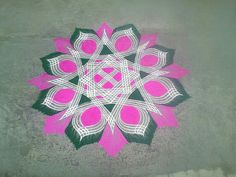 Padi Kolam, Kolam Rangoli, Simple Rangoli, Rangoli Designs, Positive Affirmations, Friday, God, Collection, Dios
