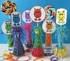 Unique Party Favors | Candy Party Favors - Candy Themed Party - Candy Favors