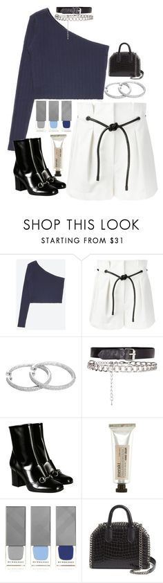 """""""Untitled #2604"""" by sam-laurent ❤ liked on Polyvore featuring 3.1 Phillip Lim, Gucci, Meraki, Burberry and STELLA McCARTNEY"""