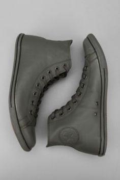 Converse Chuck Taylor All Star Slim Leather Hi Sneaker Galaxy Converse, Converse Slim, Leather Converse, Leather Sneakers, Converse Shoes, Men's Shoes, Grunge Style, Soft Grunge, Chuck Taylors