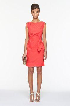 dvf new della dress. cherry.