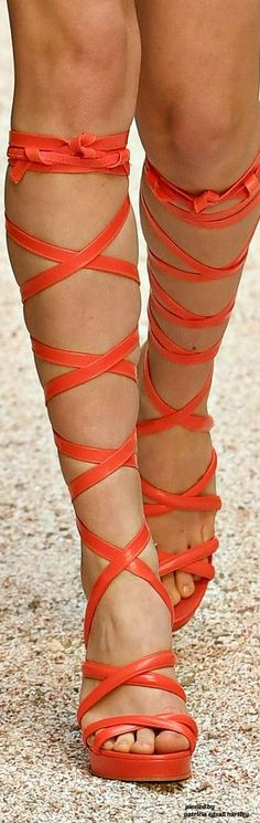 Chanel Resort 2018 Details Thigh High Boots, High Heel Boots, Ankle Boots, Platform High Heels, Black High Heels, Recycled Shoes, Chanel Resort, Orange Shoes, Orange Is The New Black