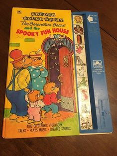 The Berenstain Bears Spooky Fun House Golden Sound Story Book Works New Battery   Books, Children & Young Adults, Children's Picture Books   eBay!