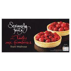 Waitrose Seriously Fruity 2 tartes aux framboises - Waitrose