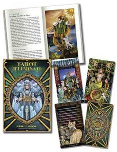 A profound quest for enlightenment drives us to grow, overcome challenges, and reach our full potential. Combining artistic beauty, symbolic depth, and intuitive vigor, the Illuminati Tarot warms the