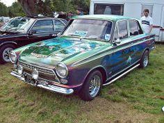 109 Ford Cortina Mk.1 Savage (1964) Classic Cars British, Classic Car Show, Ford Classic Cars, Old Vintage Cars, Vintage Bikes, Old Cars, Custom Cars, 1964 Ford, Autos