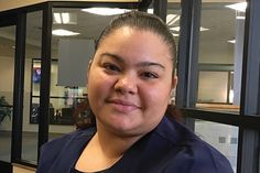 With the help of Grand Rapids Community College, Bobbie Gutierrez went from homelessness to a career as a medical assistant.