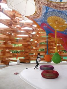Tezuka Architects, Woods of Net, TIS & PARTNERS, photo by Abel Erazo