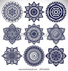 stock-vector-mandala-vintage-decorative-elements-oriental-pattern-vector-illustration-islam-arabic-indian-297434942.jpg (450×470)