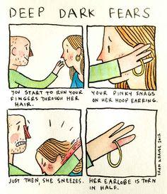 27 Deep Dark Fears That Will Make Your Skin Crawl - BuzzFeed News