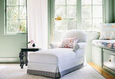 We're Currently Loving: Sage-Green Rooms -- Several shades to choose from here