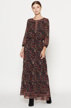 Clover Silk Dress