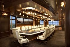 Whether you use it for an in-person gathering of your top executives or as a video-conferencing command center to engage partners all over the world, our stunning 4,000 square foot, 2-story Executive Boardroom must be seen to be believed.