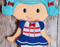 Lalaloopsy Bea Spells-a-Lot Felt Doll and от NettiesNeedlesToo