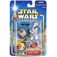 Clone Trooper Star Wars Attack of the Clones Action Figure NIP new in box Hasbro