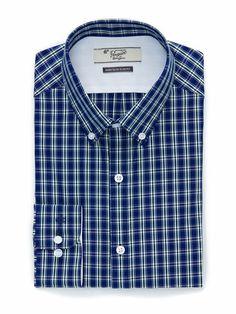 $43 CHECKED DRESS SHIRT Check Dress, City Style, Work Shirts, Dapper, Work Wear, Shirt Dress, The Originals, Penguin, Mens Tops