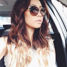 claire marshall | flawless hair | My girl crush | my style icon