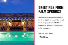 The Colony Palms Hotel.