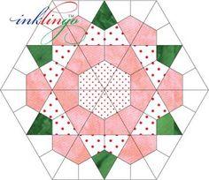 72 Kites make one Rose Star