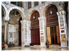 #umayyad #umayyadmosque #mosque #olddamascus #damascus #syria #history #heritage #mosaic #decoration #decor #2007 #myphoto #photo #photography #santa #saint #architecture #travel #sculpture #statue