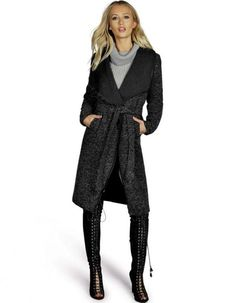 FASHION CAPPOTTO DONNA Cardigan Trench,Cool Lady Casual Wool Blend Long Coat