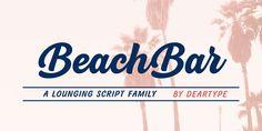 BeachBar by Veneta Rangelova or how to celebrate life #script #brush #calligraphy