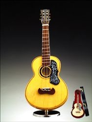 "7"" Spanish Guitar w/ Pick Guard Music Box #hiddentreasuresdecorandmore"