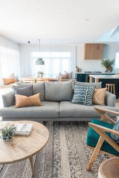 Living room reno via | @kyalandkara