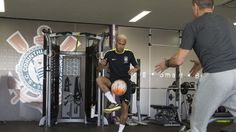 Neymar, treino seleção CT Joaquim Grava (Foto: Daniel Augusto Jr./ Agência Corinthians)