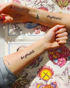 """How the feminist catchphrase """"She persisted"""" became the newest tattoo trend."""