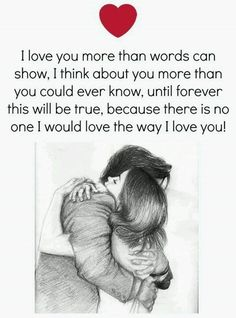 i love you more than anything in my life images will express your lovely dovely emotions and most inspirational deep love quotes for him or her brings up all kinds of additional emotions in a cute way. Cute Love Quotes, Heart Touching Love Quotes, Soulmate Love Quotes, Love Husband Quotes, Love Quotes For Her, Love Yourself Quotes, Quotes For Loved Ones, Love Quotes For Couples, Love Qoutes