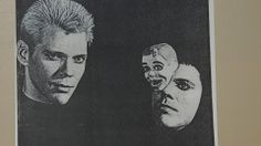 Rick Morton and his art mask.......
