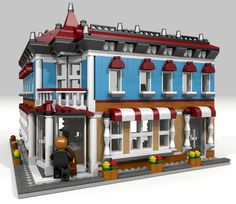 Introducing The Corner Hotel. As rest of my projects it fits with Lego Creator 3 in 1 small modular buildings (31036,31050,31026). Model is made form 1317 pcs it can be opened...