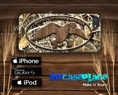 Duck Hunting Wood with Camo Phone Case for Iphone 4/4S/5/5S and Samsung Galaxy S3/S4