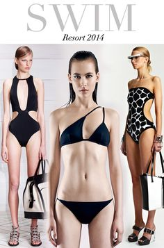 Trend Council Updates Swimwear 2014, Summer Swimwear, 2014 Trends, Latest Trends, Summer Baby, Summer 2014, Trend Council, Designer Swimwear, Swimsuits