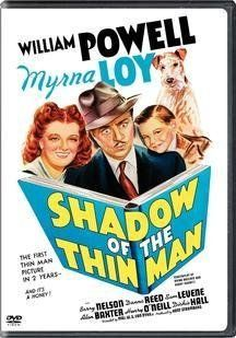 Shadow of the Thin Man DVD ~ William Powell
