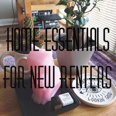 Remember Rayne: FIRST TIME RENTERS // NEW HOME HOUSEHOLD ESSENTIALS