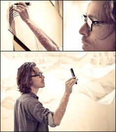 brandon boyd at his recent art show