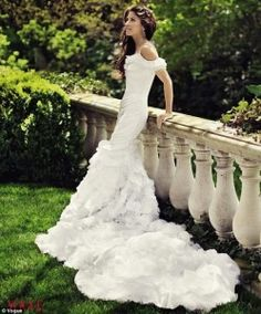 Dylan Lauren's Wedding Dress in Vogue