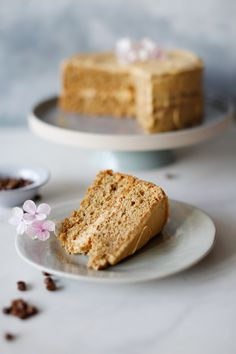 Best coffee cake in town - Lucky Pony Best coffee cake in townLucky Pony Best Banana Bread, Banana Bread Recipes, Cake Recipes, Quick Coffee Cake Recipe, Coffee Icing, Recipe Filing, Cream Cheese Icing, Cake Tins, Other Recipes