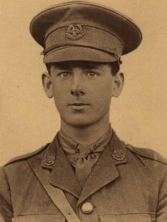 """St John Battersby 16, when he was severely wounded at the Battle of the Somme in July 1916. Like all of the teenaged officers, Lieutenant St John Battersby had responsibilities far beyond his years, as his son, Anthony, recalls: St John Battersby was first stationed near Serre in the Somme region """"There's my dad, 16-years-old, really in the war. He is responsible for 30-odd men and his decisions may result in them dying or not dying. This was it."""""""