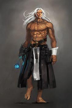 Monk, aasimar