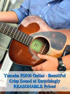 Yamaha Guitars Brings Harmony to Families #Review… #YamahaGuitars