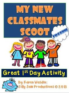 These fun back-to-school icebreakers that will get the whole class engaging with each other and ready to start the year off right! Short Vowel Activities, All About Me Activities, Friend Activities, First Day Of School Activities, 1st Day Of School, Beginning Of The School Year, Back To School, School Stuff, School Starts