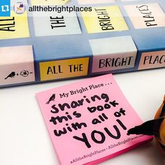 Our own Bright Place is sharing #AlltheBrightPlaces with all of you!