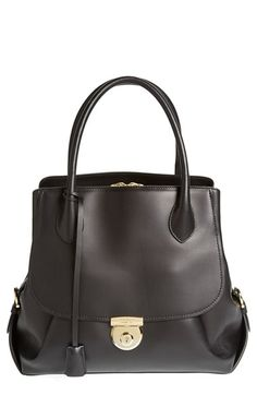 Salvatore Ferragamo 'Fiamma' Leather Tote available at #Nordstrom