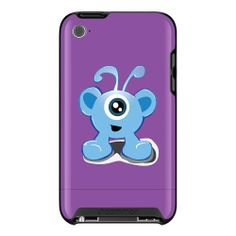 Blue Monster iPod iTouch 4 Case Uncommon.