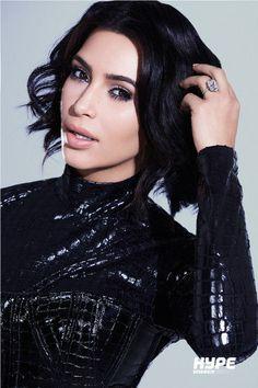 De Kim Kardashian Hype Energy Drink Foto Campaña Shoot | NYLON